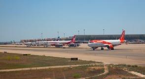 马略卡岛帕尔马机场 免版税图库摄影