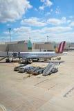 马略卡岛帕尔马机场 库存照片