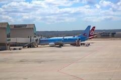 马略卡岛帕尔马机场 免版税库存图片
