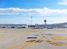 马略卡机场  免版税库存照片