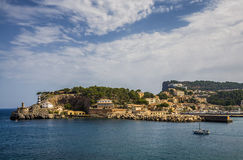 马略卡海边 免版税库存图片