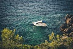 马略卡海滩 免版税库存图片