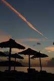 从马略卡的海滩 免版税库存照片