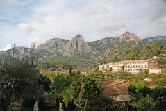 马略卡风景 库存图片