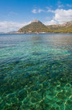 马略卡Formentor海滩 免版税图库摄影