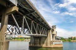 马礼逊桥梁 库存图片