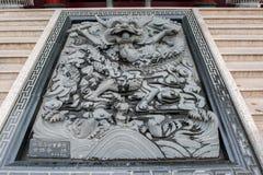 马祖寺庙曲拱 免版税库存图片