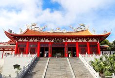 马祖寺庙, Tianhou寺庙,海的上帝在中国 免版税图库摄影