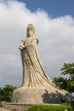 马祖雕象湄洲岛的 免版税库存图片
