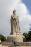 马祖雕象湄洲岛的 库存照片