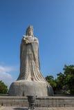 马祖雕象湄洲岛的 免版税库存照片