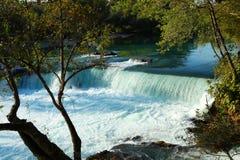 马纳夫加特瀑布 库存图片