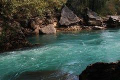 马纳夫加特瀑布  免版税库存照片