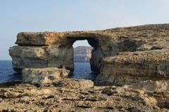 马耳他。 Gozo。 免版税库存图片