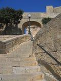 马耳他台阶走道 免版税图库摄影