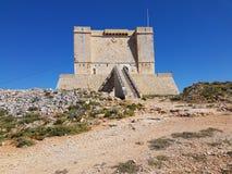 马耳他科米诺岛 免版税库存照片