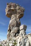 马耳他十字形岩层 库存照片