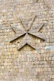 马耳他十字形 库存照片