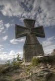 马耳他十字形 库存图片
