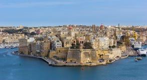 马耳他堡垒St安吉洛 图库摄影