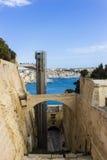 马耳他堡垒St安吉洛 免版税库存图片
