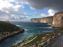 马耳他海岸 免版税图库摄影
