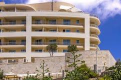 马耳他,海岸线视图 免版税库存图片