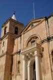 马耳他,美丽如画的市瓦莱塔 免版税库存图片