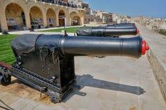 马耳他,美丽如画的市瓦莱塔 免版税库存照片