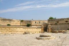 马耳他La瓦莱塔历史的口岸 免版税库存照片