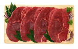 马肉牛排  免版税库存图片