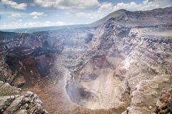 马萨亚火山,尼加拉瓜 免版税库存照片