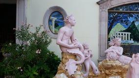 马萨特兰雕塑 免版税库存照片