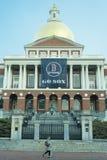 马萨诸塞状态议院在波士顿,麻省 免版税库存图片