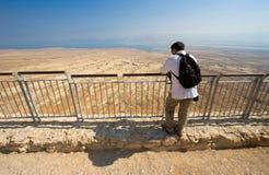 马萨达在以色列 库存图片