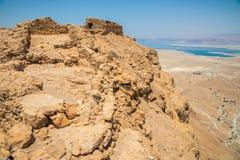 马萨达在以色列 免版税库存图片