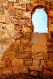 马萨达堡垒 库存照片