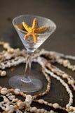 马蒂尼鸡尾酒海星 库存图片