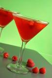 马蒂尼鸡尾酒莓 库存图片