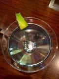 马蒂尼鸡尾酒从上面 库存图片