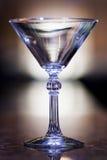 马蒂尼鸡尾酒玻璃 库存照片