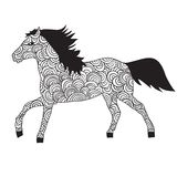 马装饰品 免版税库存图片
