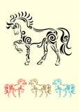 马装饰品 库存图片