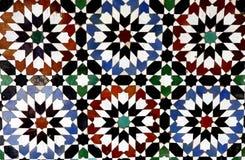 马赛克在摩洛哥 免版税图库摄影