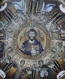 马赛克在诺曼底人的宫殿,巴勒莫,西西里岛,意大利 免版税库存图片