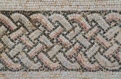 马赛克在Kourion,塞浦路斯 免版税库存照片