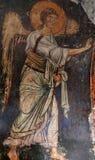 马赛克在Mirozhsky修道院,普斯克夫,俄罗斯里 免版税库存图片