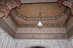 马赛克墙壁阿拉伯人 图库摄影
