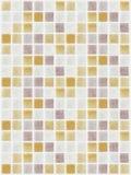 马赛克大理石瓦片色的正方形 免版税库存图片