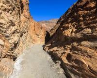 马赛克峡谷足迹 库存图片